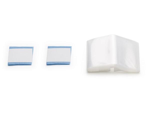 Schlauchüberzug transparent 120/240 x 7 cm