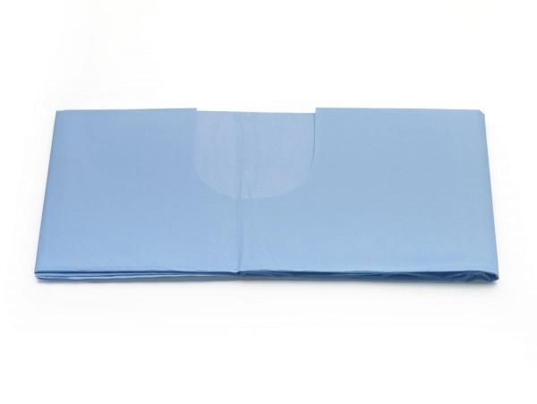 Abdecktuch 100 x150 cm mit U-Ausschnitt