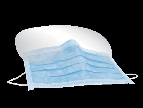 Mundschutzmaske mit Visier
