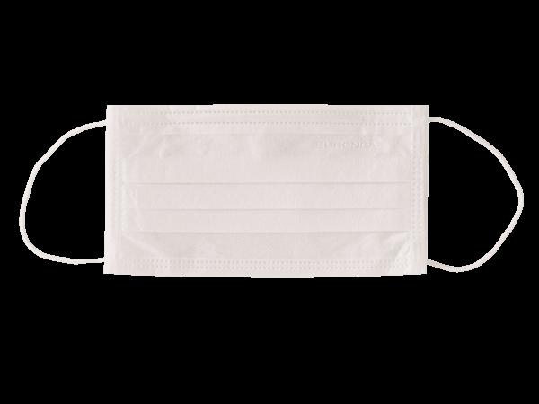 Medizinischer Mundschutz 3-lagig weiss mit Gummizug