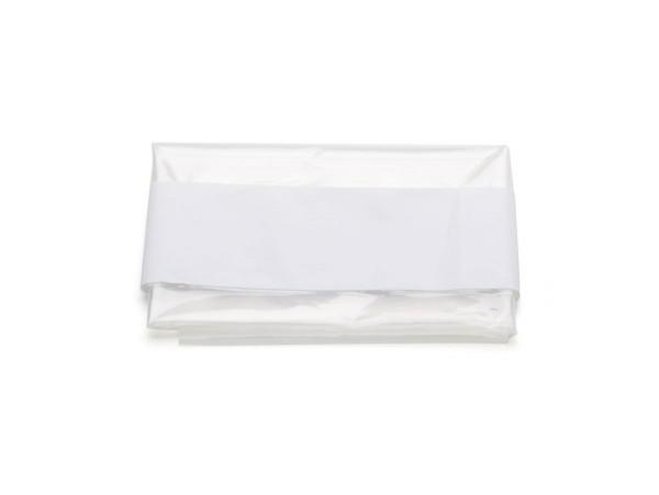 Transparente Schutzfolie 40 x 50 cm mit Klebestreifen
