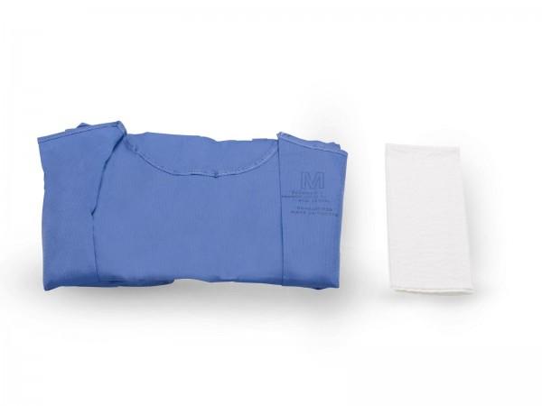 OP-Mantel blau Mikrofaser