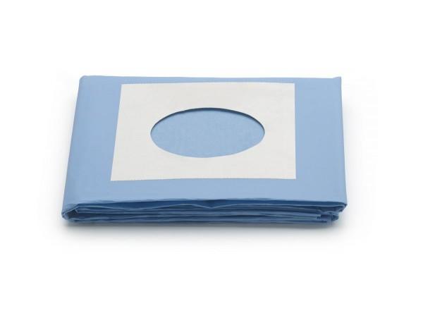 Abdecktuch 100 x 150 cm mit Loch selbstklebend