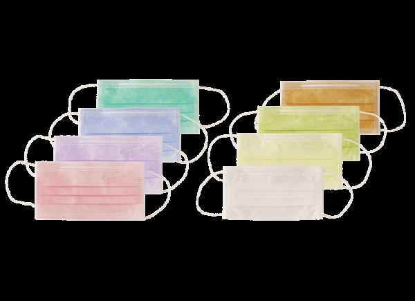 OP Mundschutz mit Gummizug farbig