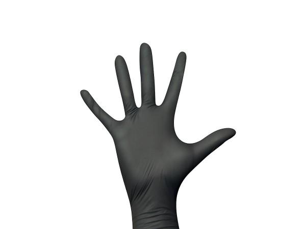 Einmalhandschuhe Nitril schwarz