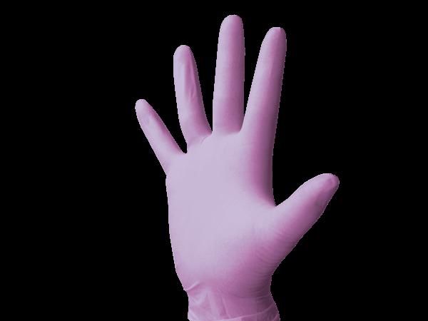 Monoart Latexhandschuhe puderfrei lila
